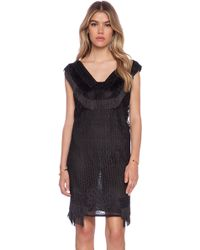 Anna Sui Crochet Lace Dress - Lyst