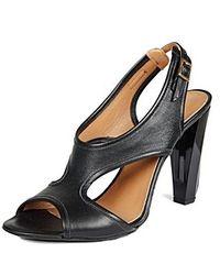 Raoul Sling Back Leather Sandal - Lyst