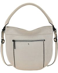 Elliott Lucca 'Faro City' Perforated Leather Hobo - Lyst