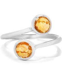 Gemporia - Citrine Sterling Silver Ring - Lyst