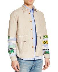 Junya Watanabe | Multi Fabric Shirt Jacket | Lyst