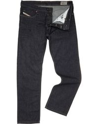 Diesel Waykee Tapered Fit 88z Wash Jeans - Lyst