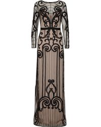 Temperley London Catroux Embroidered Tulle Gown - Lyst