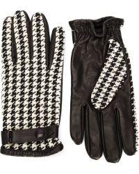 Orley - Houndstooth Gloves - Lyst