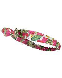 TOPSHOP - Tropical Print Headband - Lyst