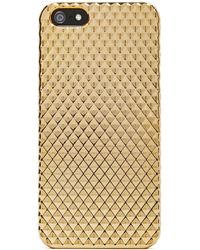 Nasty Gal Strike Gold Iphone 5 Case - Lyst