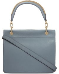 Max Mara Small Leather Messenger Bag - Lyst