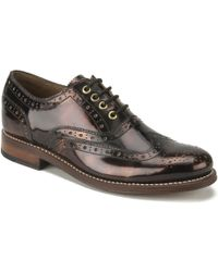 Foot The Coacher - Women'S Rose Leather Brogues - Lyst