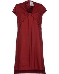 Normaluisa Short Dress - Lyst