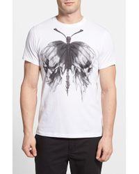 Diesel 'Aikos' Graphic T-Shirt - Lyst