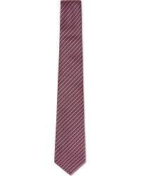 Gucci Woven Stripe Tie - Lyst