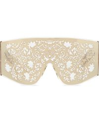 KTZ - Gold Metal Lace Sunglasses - Lyst