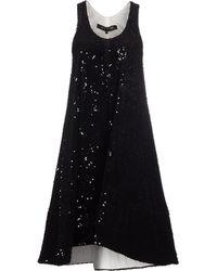 Ter Et Bantine Knee-Length Dress black - Lyst