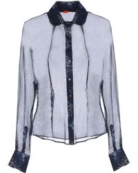 Vivienne Westwood Red Label Shirt blue - Lyst