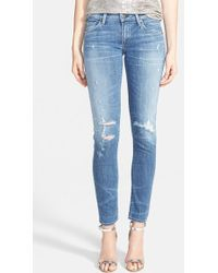 Citizens of Humanity 'Racer' Distressed Skinny Jeans - Lyst