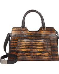 Proenza Schouler Snakeskin Ps13 Mini Shoulder Bag - Lyst