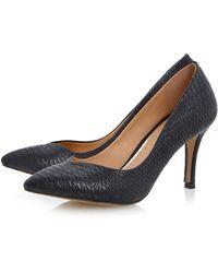 Linea Applejack Plain Point Midheight Heels - Lyst