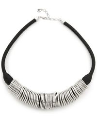 Sam Edelman - Disc Collar Necklace - Lyst