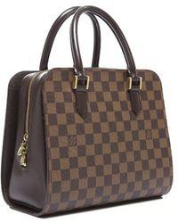 Louis Vuitton Preowned Damier Ebene Triana Bag - Lyst