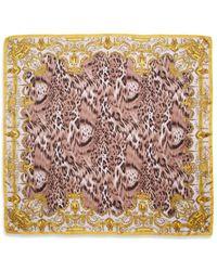 Versace Silk Mixedprint Scarf - Lyst
