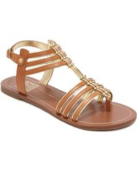 Dv By Dolce Vita Dustin Faux Leather Sandals - Lyst