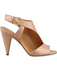 Nine West Shapeup Open Toe Sandals - Lyst