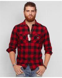 Denim & Supply Ralph Lauren Buffalo Check Flannel Shirt - Lyst