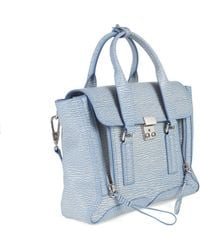 3.1 Phillip Lim Medium Leather Pashli Satchel - Lyst
