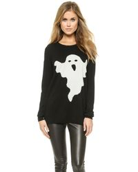 Zoe Karssen Ghost Sweater - Pirate Black - Lyst