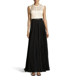 Catherine Deane Naya Lasercut Leather Gown - Lyst