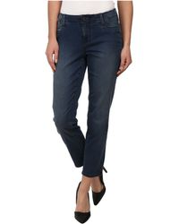 Christopher Blue Skye Crop in Harmony Wash - Lyst