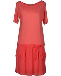 Esologue Short Dress - Lyst