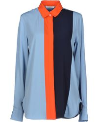 Celine Blue Shirt - Lyst