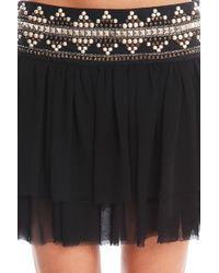 Balmain Black Skirt black - Lyst