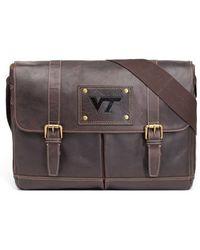 Jack Mason Brand - 'gridiron - Virginia Tech Hokies' Leather Messenger Bag - Lyst