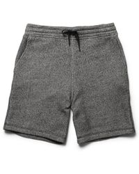 Alexander Wang Loop Back Cotton Jersey Shorts - Lyst