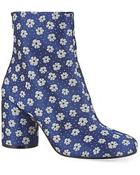 Maison Margiela No Tabi Floral Boots - For Women - Lyst
