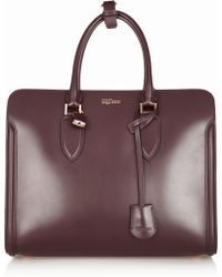 Alexander McQueen The Heroine Leather Tote - Lyst