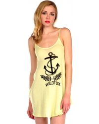 Wildfox | Baby Anchor Baggy Beach In Sunshine | Lyst