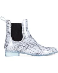 French Connection Nevis Short Rain Booties - Lyst