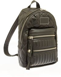 Marc By Marc Jacobs - Black Domo Arigato Quilted Leather Backpack - Lyst