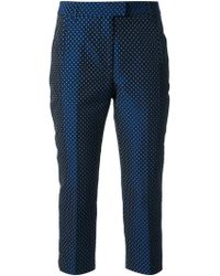 Viktor & Rolf Cropped Polka Dot Trousers - Lyst