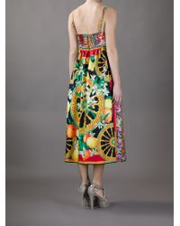 Dolce & Gabbana Multicoloured Dress - Lyst