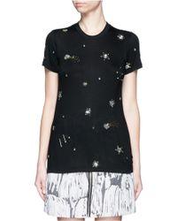 Markus Lupfer | 'constellation' Embellished Kate T-shirt | Lyst
