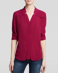 Splendid Blouse - Notch Collar - Lyst