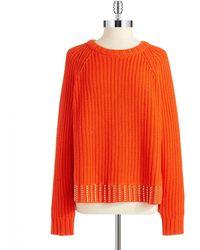 MICHAEL Michael Kors Studded Pullover Sweater - Lyst