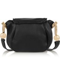 See By Chloé Lena Small Textured-Leather Shoulder Bag - Lyst