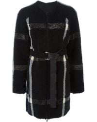 Sprung Freres - 'marty' Reversible Coat - Lyst