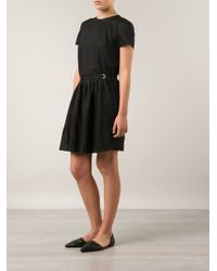 Band of Outsiders Wrap Skirt Dress - Lyst