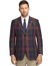 Brooks Brothers Own Make Signature Tartan Madras Sport Coat 102 Sport Coat - Lyst